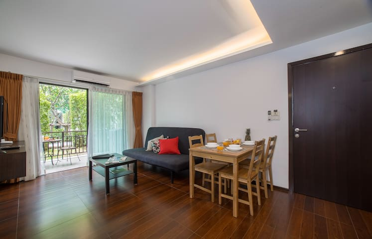 Cosy apartment with private pool access at Rawai