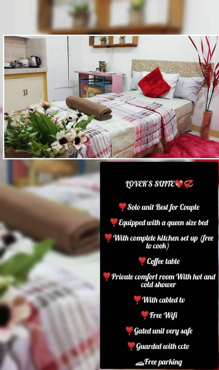 The Lover's Suite with own kitchenette