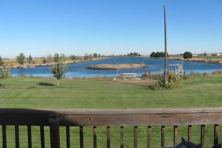 Private Lakefront Home - Moses Lake - House