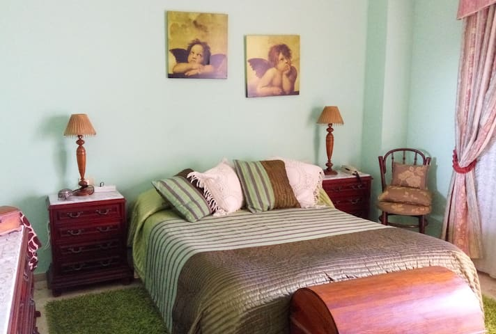 Room with double bed, terrace and private bathrom - Los Realejos