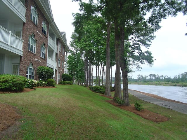 Riverwalk is located along the Intracoastal Waterway.  Great Views!