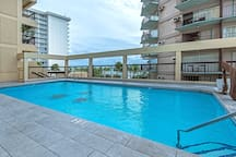 Hotel Pool on the 4th Floor
