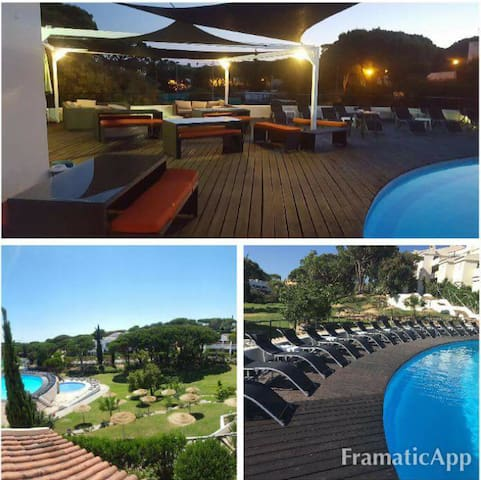 Great  1BR Apt-Bright & cozy- perfect for tourists - Vale de Lobo - Daire