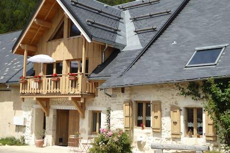 B&B in authentic Vercors farmhouse style