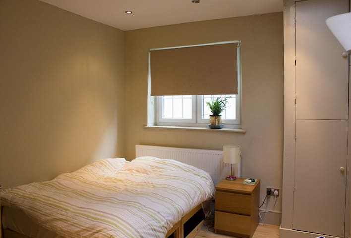 Bright and cosy bedroom with private bathroom