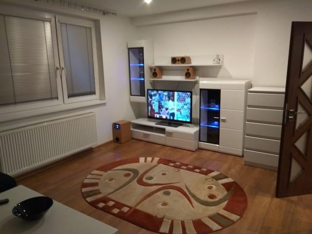 Jednoizbový apartmán.