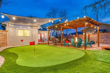 4 Bedrooms - Amazing Backyard with Putting Green!