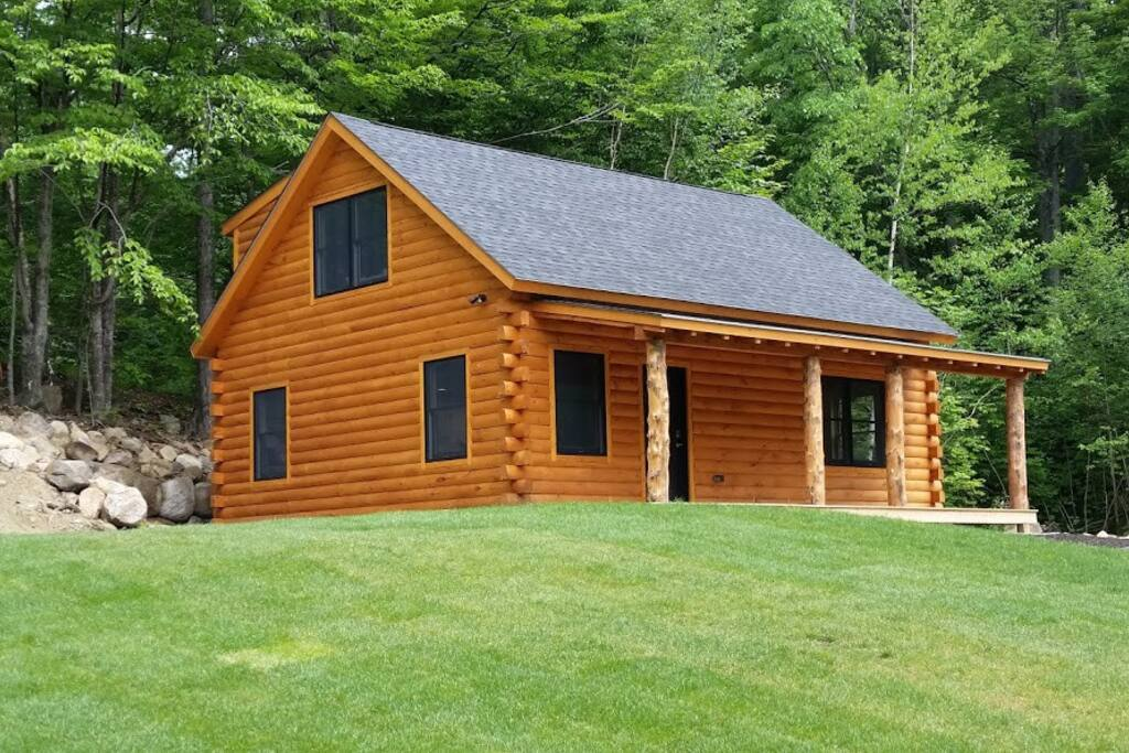 Brand new 2 bedroom cabin in the white mountains cabins for New hampshire log cabins