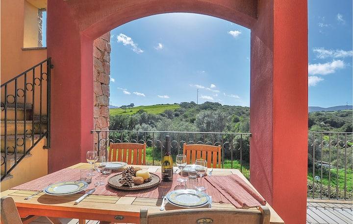 Nice home in Porto Pozzo OT with 2 Bedrooms