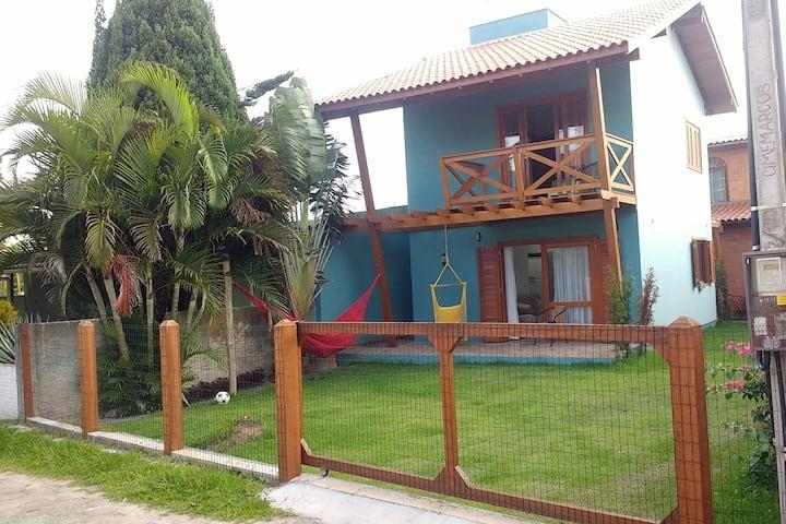 Casa Água Marinha, 80mts praia na Barra da Ibira