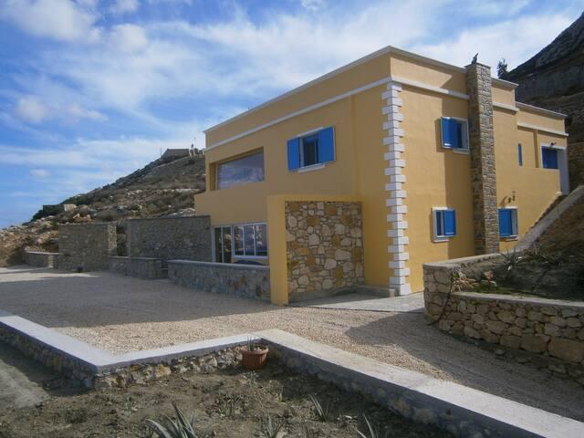 Karpathos Guest House Twin Beds Room