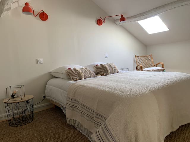 Chambre 1 à l'étage de la maison