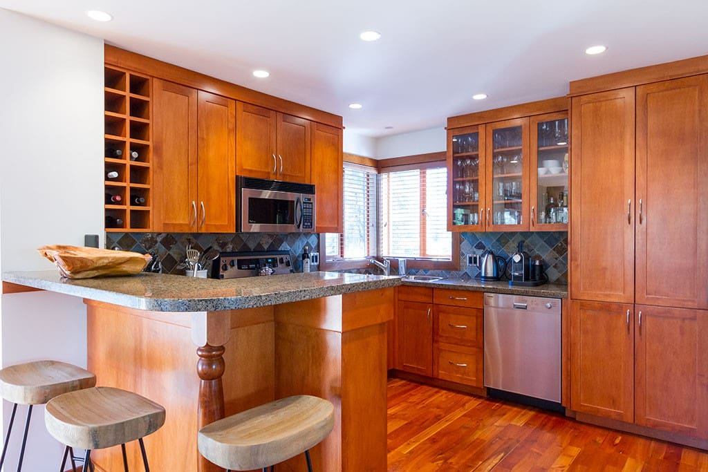 Well appointed kitchen.