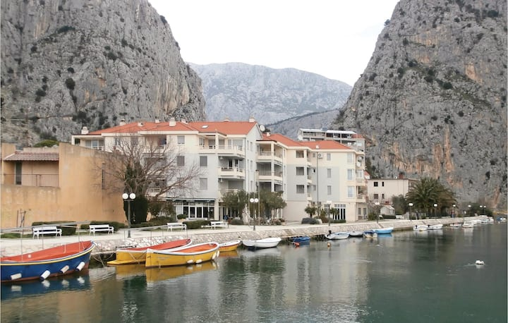 Beautiful home in Omis with WiFi and 1 Bedrooms
