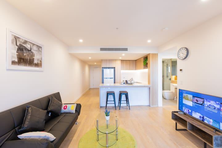 Cozy & Modern Apartment @ the HEART of South Bank