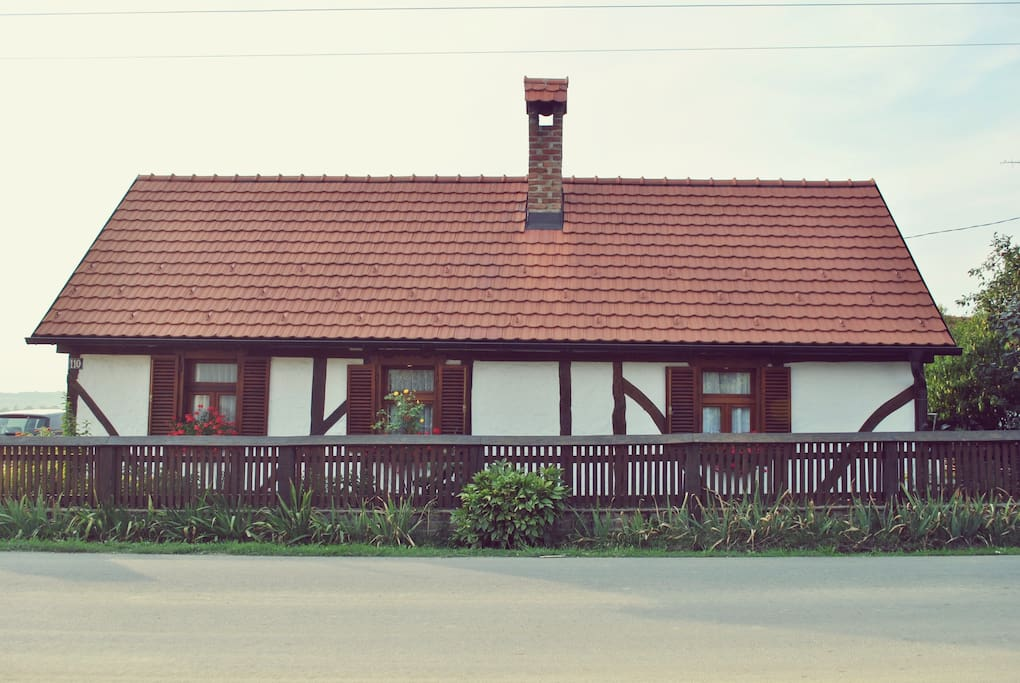 Lovely house-front side