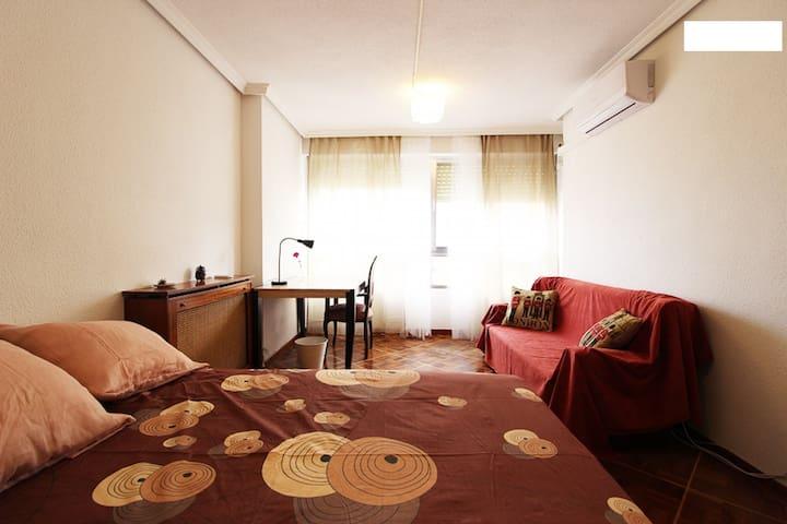 Room in Madrid Río