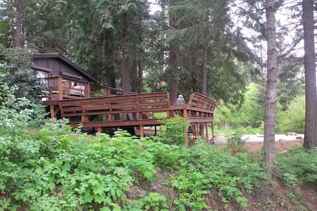 Pet Friendly, Cedar Forest Retreat - Sagle - Haus