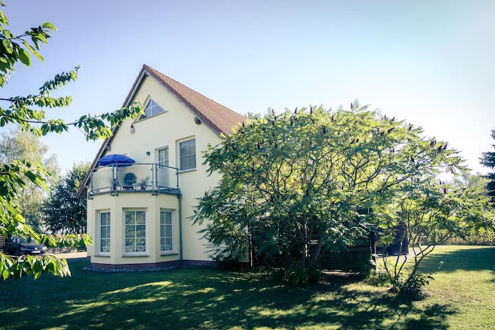 Family holiday apartment on the island of Usedom