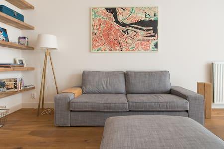 Spacious apartm. 1 bedr with garden - Amsterdam - Apartment