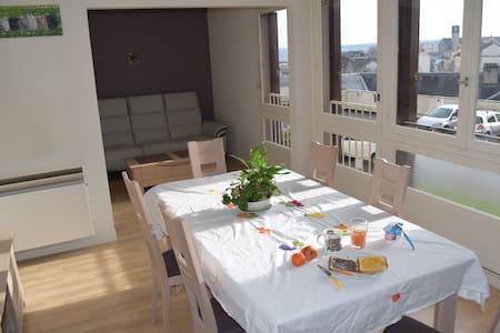 Chambre privée à 5min à pied du centre de Limoges - Limoges - Apartamento