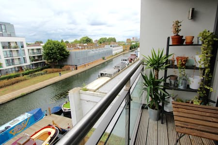 LONDON SHOREDITCH CANAL VIEW 1 BED