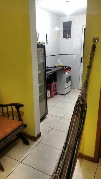 Cozinha para apoio
