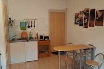 Ein-Zimmer Wohnung Nahe Zentrum