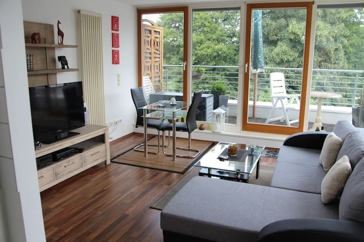 2 bedroom Lakeview Penthouse apt. - Birkenwerder - Apartmen