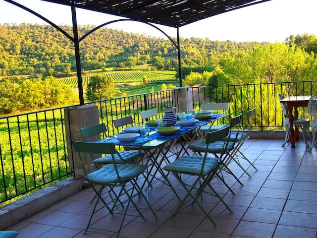A Casa Celeste BnB - Chambre Lune - Beaumont-de-Pertuis - Bed & Breakfast