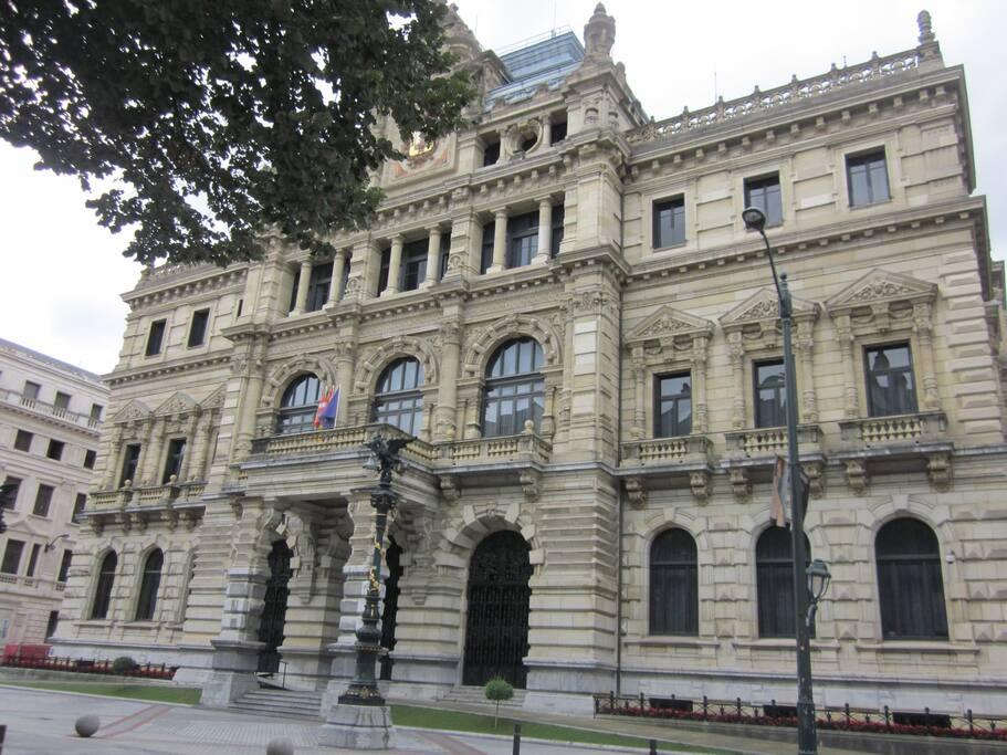 Palacio de la Diputación al lado de casa.