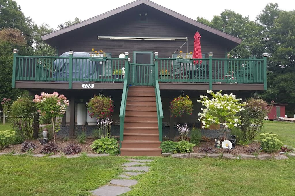 Chalet rental house chalet in affitto a fleischmanns for Casa a new york affitto