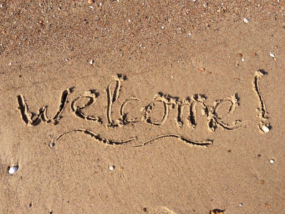 Je bent van harte welkom!
