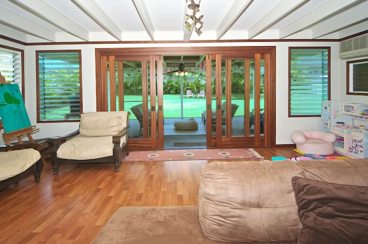 Beautiful Island Home (TATW(PHONE NUMBER HIDDEN) - Waimanalo - House