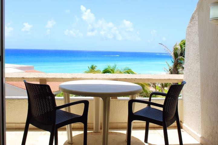 INCREDIBLE Apart.CANCUN 2-Bd Magnificent Sea View.