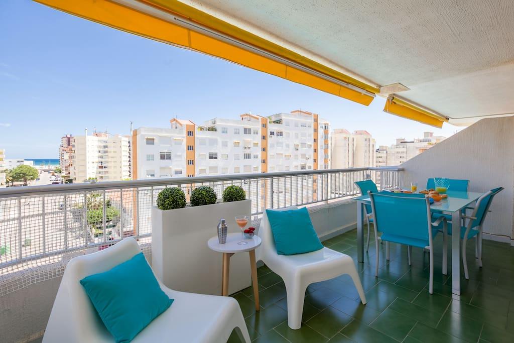 Apartamento vista mar playa gandia apartamentos en alquiler en grau i platja comunidad - Playa gandia apartamentos ...