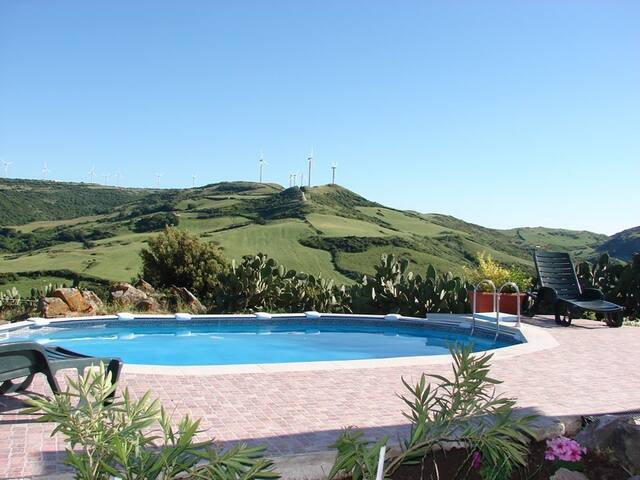 villa in the countryside with pool