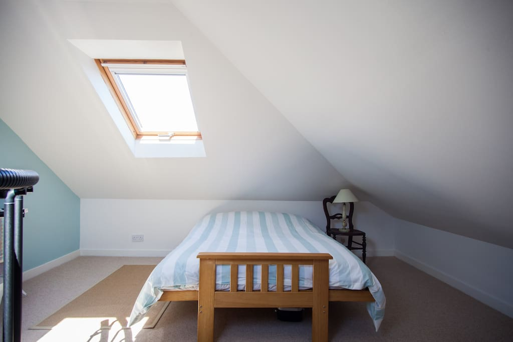 Cosy attic room.