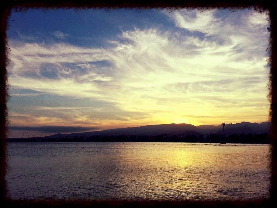 Sunset in Arinaga
