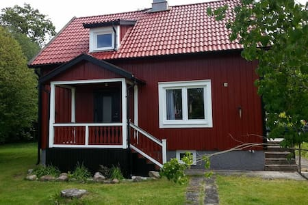 Traditional Red Swedish Cottage