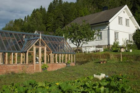 Idyllic small farm, Hiet - Ramnes - Bed & Breakfast