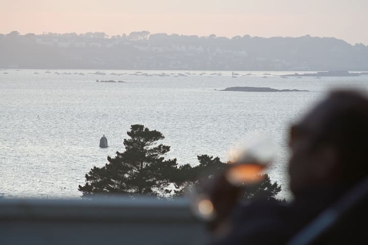 Villa 5 étoiles, superbe vue mer