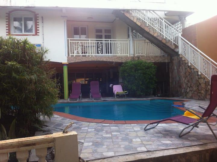 Chambres d'hôtes Lamentin Martinique