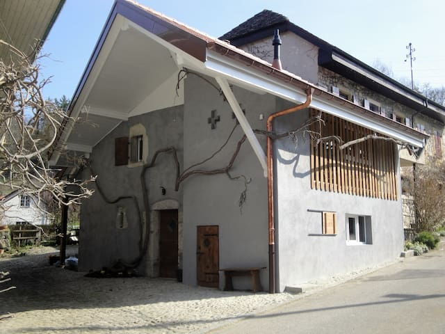 Le Gîte du Vieux Bûcher - Ependes - บ้าน