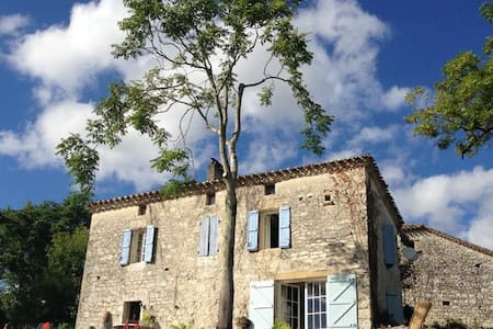 Idilic Private 16th Century Hamlet with Best View - Bourg-de-Visa