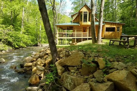 Log Cabin on the River - Stanardsville - Cabane