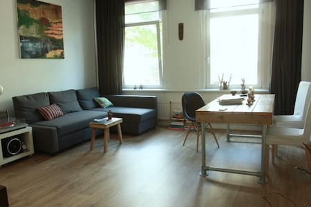 Large&Cosy central studio with nice terrace - Rotterdam - Apartment