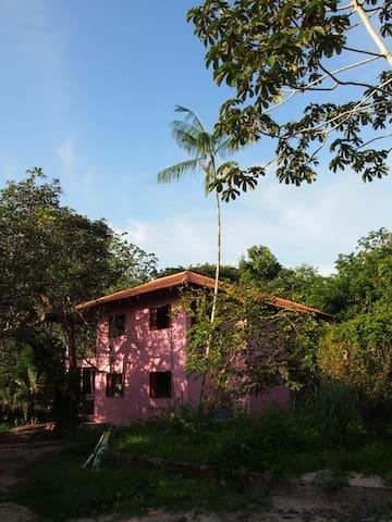 casa rosada - Alter do Chão, Santarém