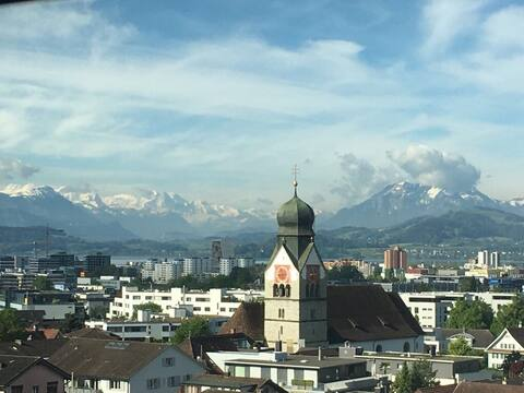 Lovely one Bedroom Flat in the centre of Zug