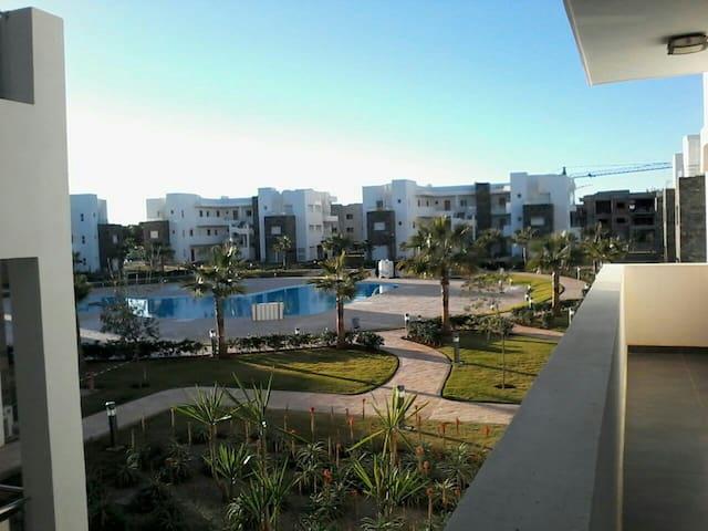 Bel Appart de 2 Chambres 200 m plage - Saïdia - Appartement